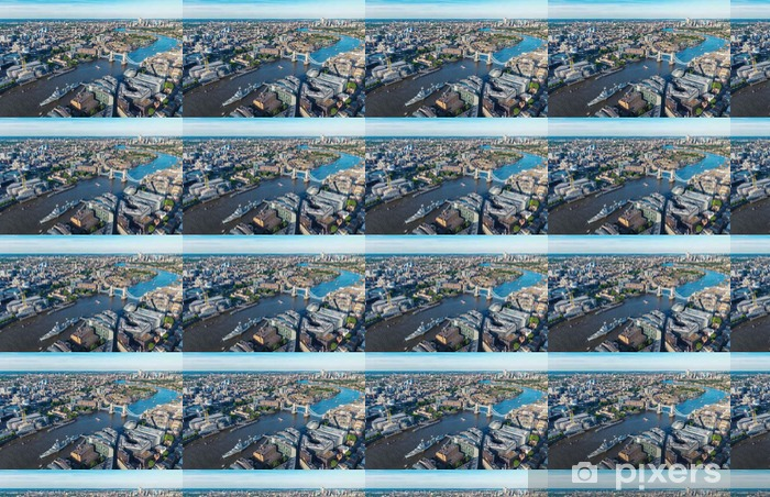 Tapeta na wymiar winylowa Londyn Skyline panorama lotnicza - Podróże