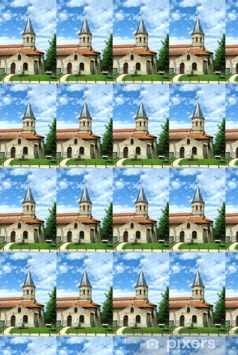 Papier peint vinyle sur mesure Eglise de Varennes-sur-Morge (63) - Religion