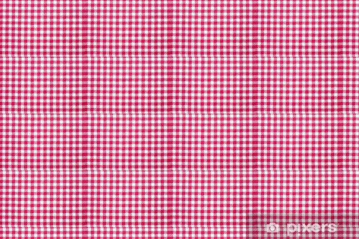 papier peint à motifs nappe à carreaux fond de texture rouge et