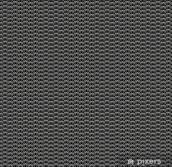 Vinyl behang, op maat gemaakt Geometrische 3D-reliëf schetsen zeshoek raster textuur patroon - Grafische Bronnen