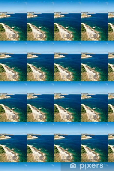 Tapeta na wymiar winylowa Korsyka coast - Europa