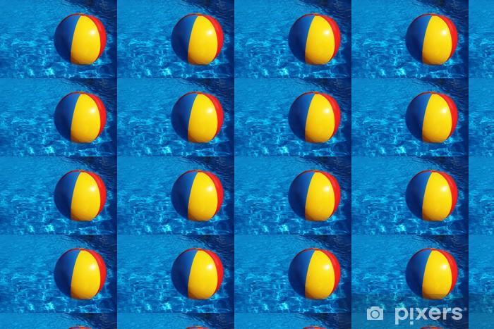Papier peint vinyle sur mesure Wasserball - Vacances