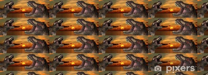 Tapeta na wymiar winylowa T Rex Sunrise - Tematy