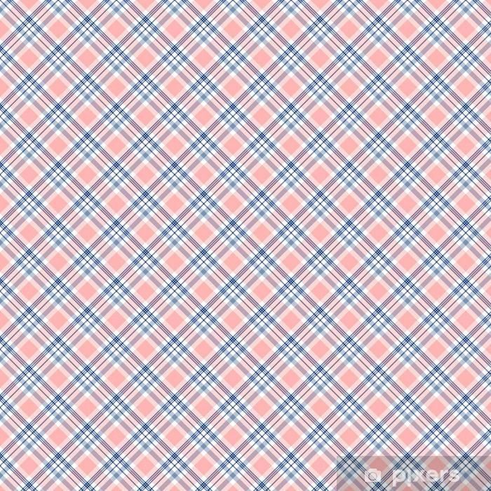 ccd4c9cd5 Papel pintado Modelo inconsútil de la tela escocesa de tartán. Impresión  Checkered de la textura de la tela en azul marino oscuro, blanco y rayas ...