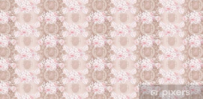 Wzór z białych róż 3