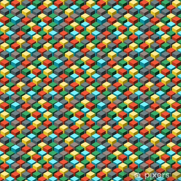 Vinyltapete nach Maß Nahtlose geometrische abstrakte Muster. Vektor-Illustration. - Grafische Elemente