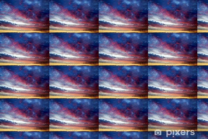 Vinylová tapeta na míru Slunce s mraky clorful nad Baltským mořem - Témata