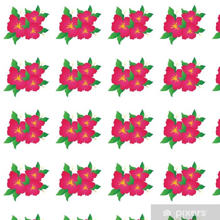 Vinylová tapeta na míru Květy ibišku - Květiny