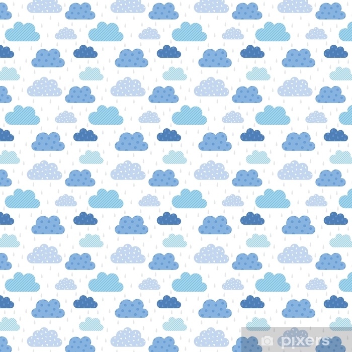 Tapeta na wymiar winylowa Uroczy wzór chmury - Zasoby graficzne