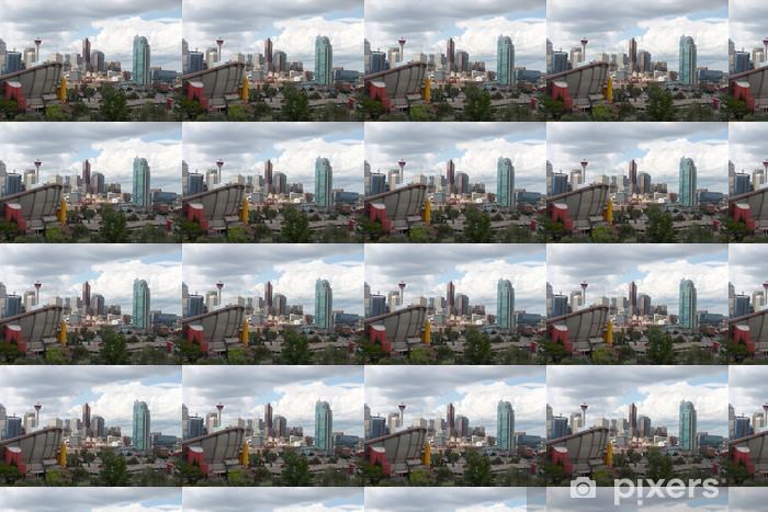 Papier peint vinyle sur mesure Immeubles de bureaux à Calgary - Amérique
