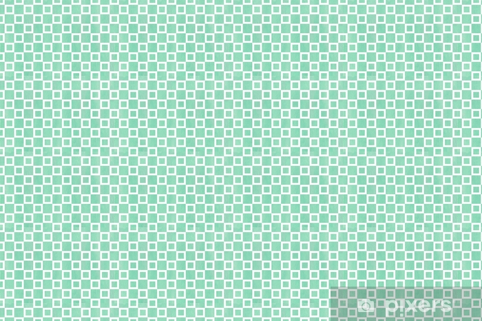 Watercolor square pattern. Vinyl custom-made wallpaper - Graphic Resources