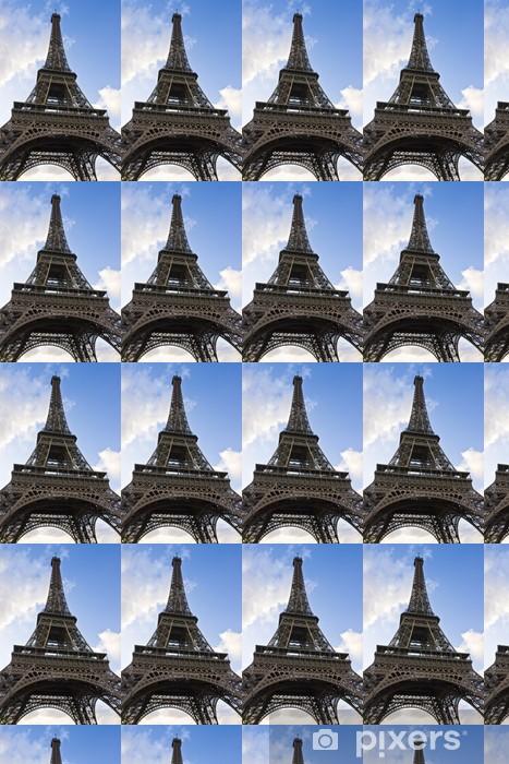 Papier peint vinyle sur mesure Tour Eiffel - Tour Eiffel - Paris France - Bonheur