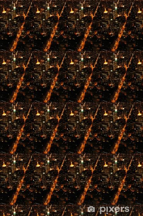 Vinylová tapeta na míru Noc ny - Americká města