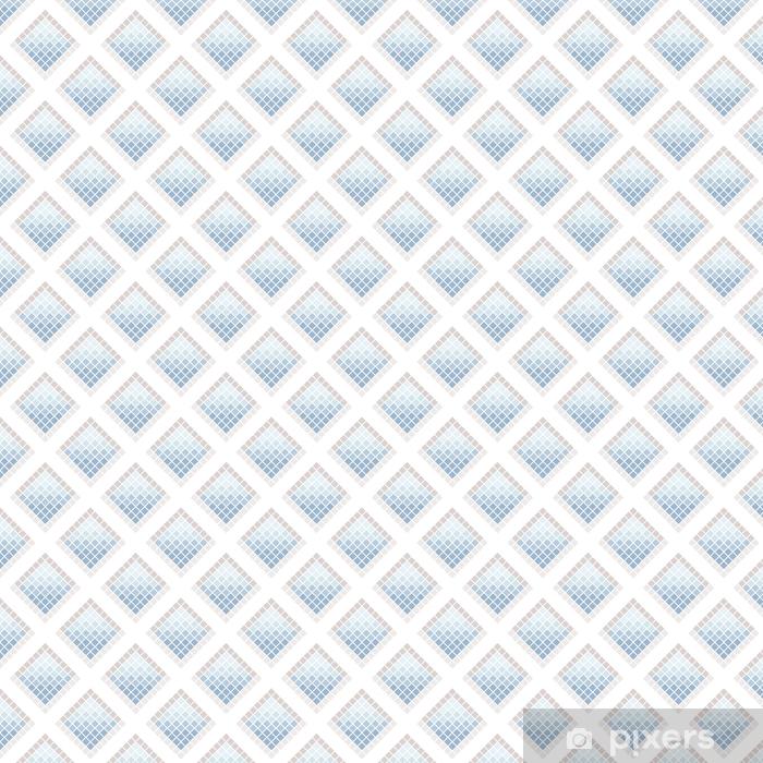 Papel pintado estándar a medida Resumen de patrones sin fisuras de cuadrados. Azulejos de cerámica. - Recursos gráficos