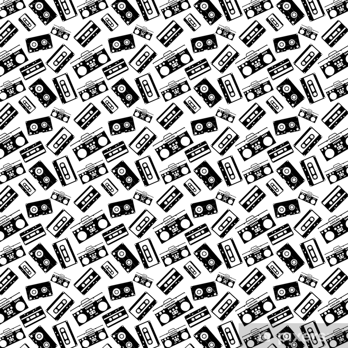 80s Nostalgia Style Vintage Retro 80 S Vector Fashion Seamless Pattern Wallpaper Pixers We Live To Change