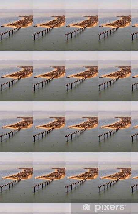 Vinyl Behang De brug van het Ile de Re - Vakantie