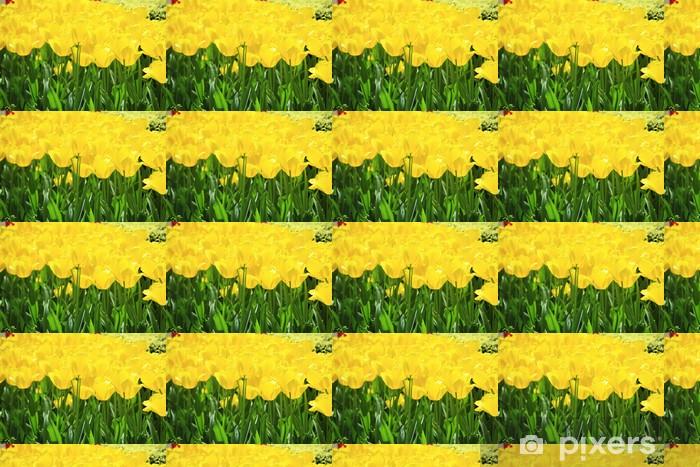 Vinyl Behang Gele tulp - Thema's