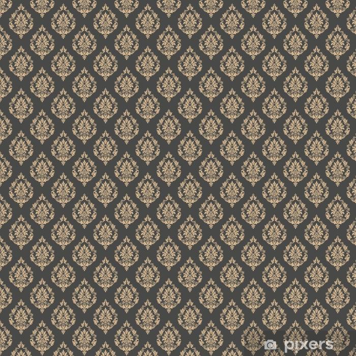 Tapeta na wymiar winylowa Wektor barok bezszwowe tło wzór. klasyczny luksus staroświecki barokowy ornament, królewski wiktoriański bez szwu tekstury do tapet, tekstylne, owijania. wykwintny kwiatowy barokowy szablon - Zasoby graficzne