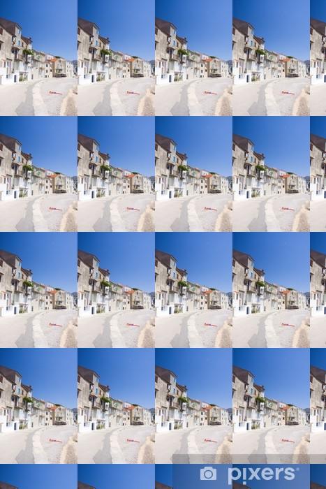 Vinyl behang, op maat gemaakt Dijk in Baska, Kroatië - Europa