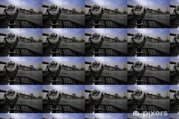Papier peint vinyle sur mesure Pont de Brooklyn, New York - Villes américaines