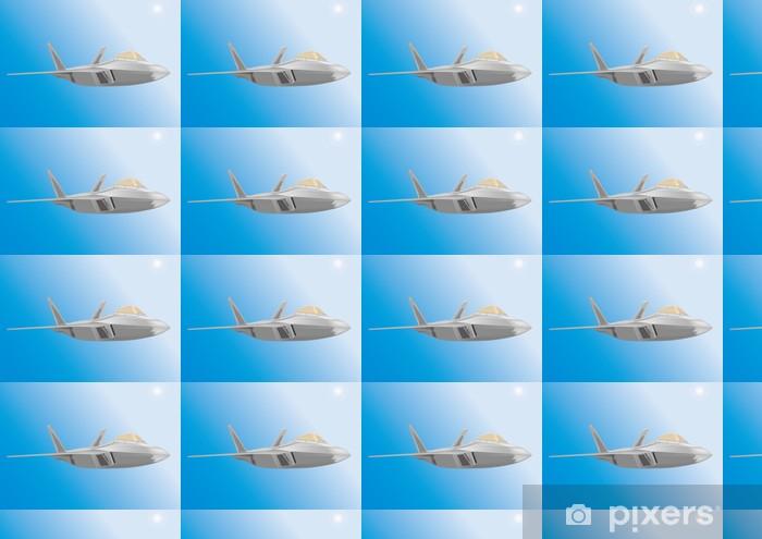 Tapeta na wymiar winylowa Duża の powietrza F22 - Transport powietrzny