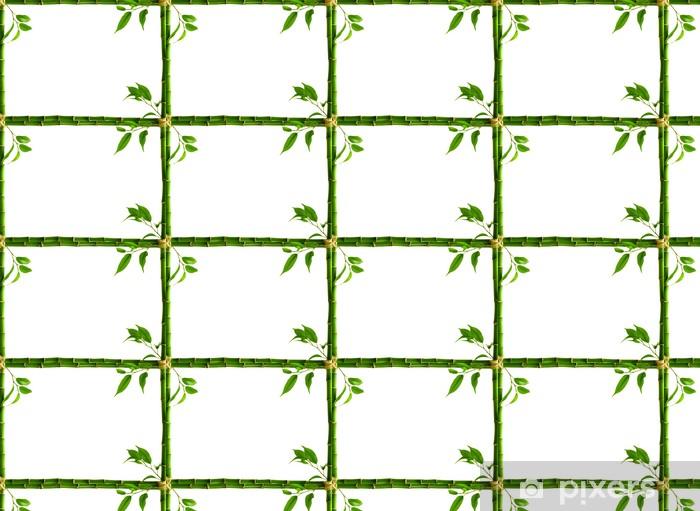 Tapeta na wymiar winylowa Bambus ramki - Cuda natury