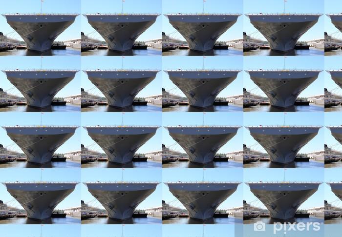 Vinylová tapeta na míru Letadlová loď - Lodě