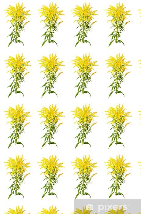 Vinyltapete nach Maß Große Goldrute Blume - Pflanzen