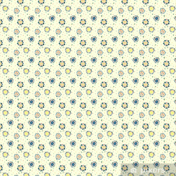 Bezszwowe wektor ręcznie rysowane doodle dziecinny kwiatowy wzór. tło z dziecinnymi kwiatami, liśćmi. ilustracja ozdobny ładny rysunek linii graficznej. nadruk do pakowania, tło, tkanina, dekoracje