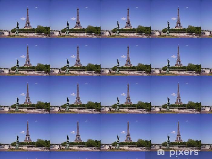 Vinyltapete nach Maß La Tour Eiffel et la France Renaissante - Europäische Städte