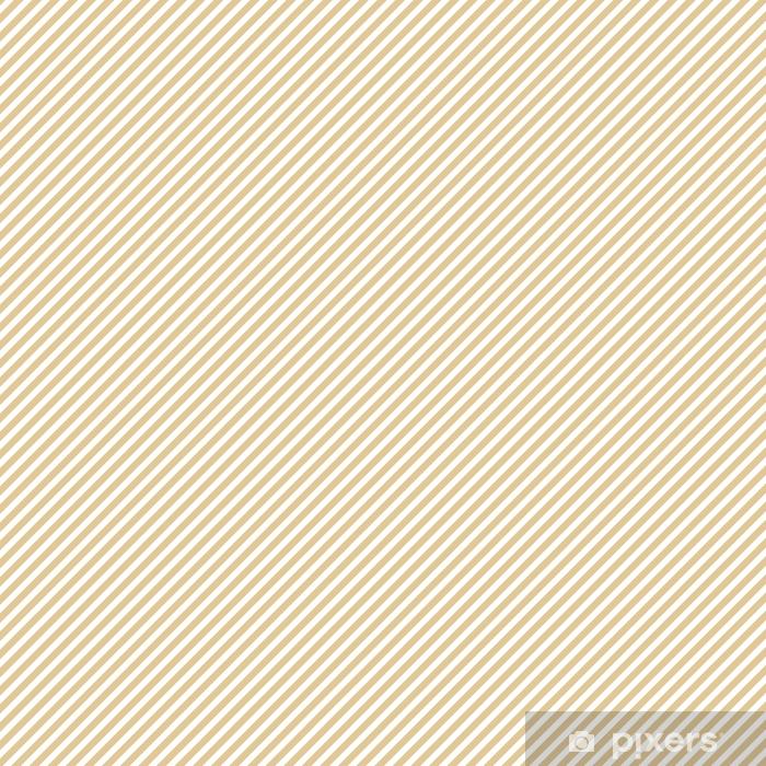 Vinyl behang, op maat gemaakt Streep beige naadloze patroon - Grafische Bronnen