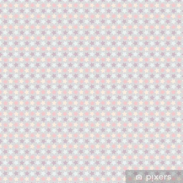 Wzór gwiazdy bez szwu. kolorowa geometryczna wektorowa ilustracja z gwiazdami na rocznika stylu
