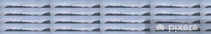 Özel Boyutlu Vinil Duvar Kağıdı Alpen Panorama - Açıkhava sporları