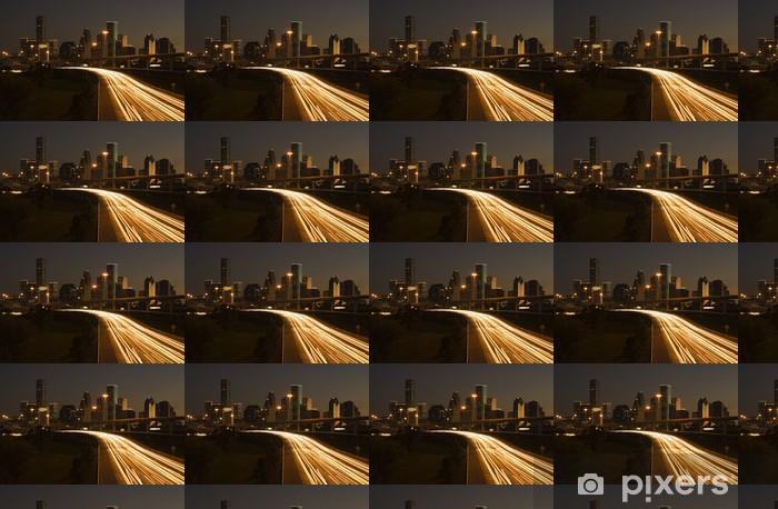 Tapeta na wymiar winylowa Houston Downtown za autostrady - Inne