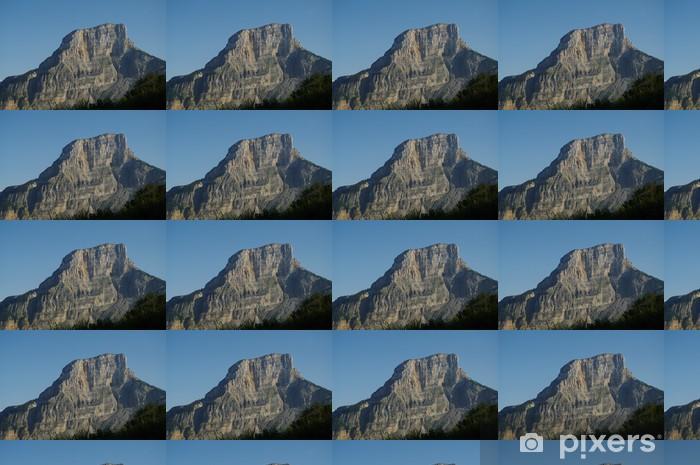 Tapeta na wymiar winylowa Montagne du Granier, Sabaudia - Alpy Françaises - Wakacje