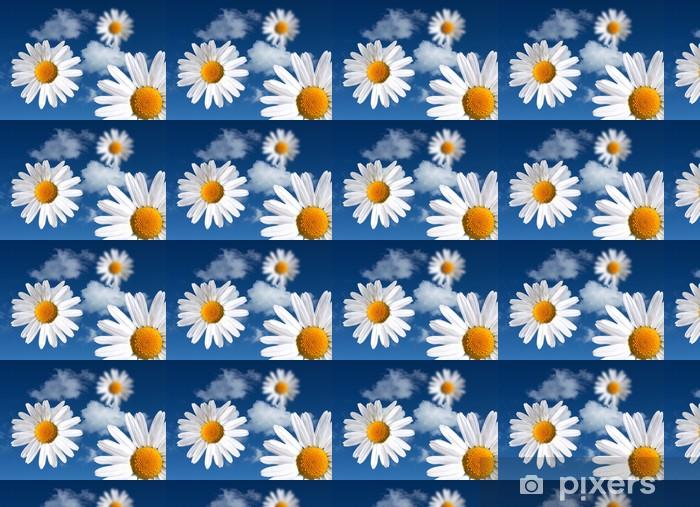 Tapeta na wymiar winylowa Kwiaty na niebieskim niebie - Szczęście