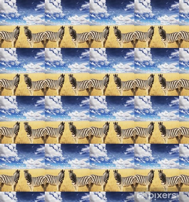 Vinylová tapeta na míru Zebras - Témata