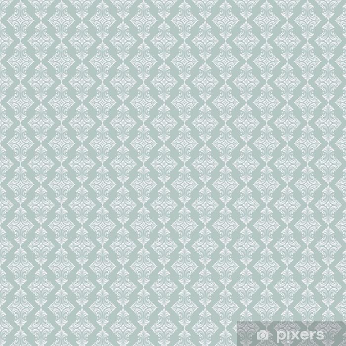 Zelfklevend behang, op maat gemaakt Vector damast naadloze patroon achtergrond. klassieke luxe ouderwetse damast ornament, Koninklijke Victoriaanse naadloze textuur voor achtergronden, textiel, onmiddellijke verpakking. prachtige bloemen barokke sjabloon - Grafische Bronnen
