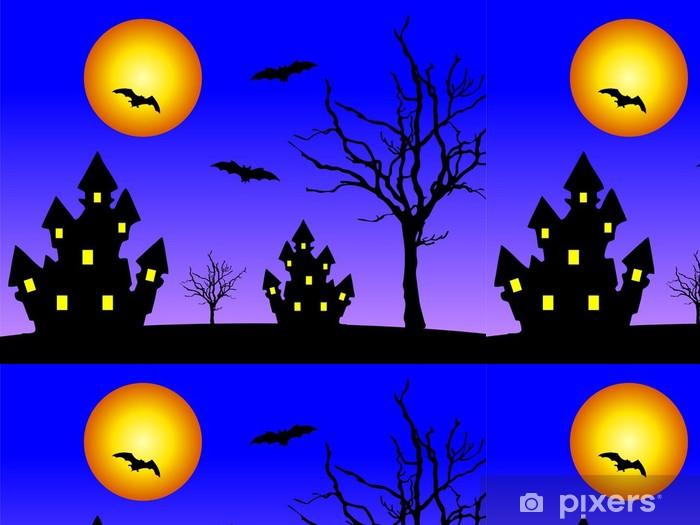 Papel Pintado Estándar Casas en la noche - Celebraciones internacionales