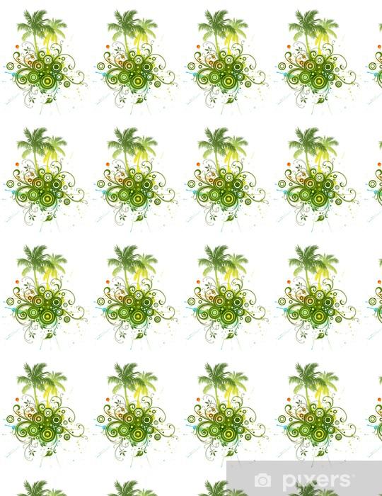 Papier peint vinyle sur mesure Palm trees - Palmiers