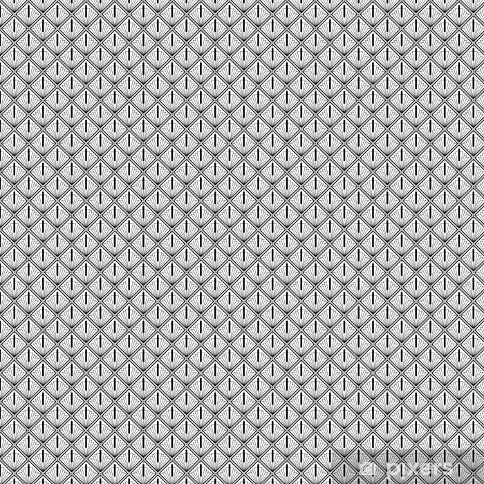 Art Deco Monochrome Seamless Arabic Black Wallpaper Pixers We