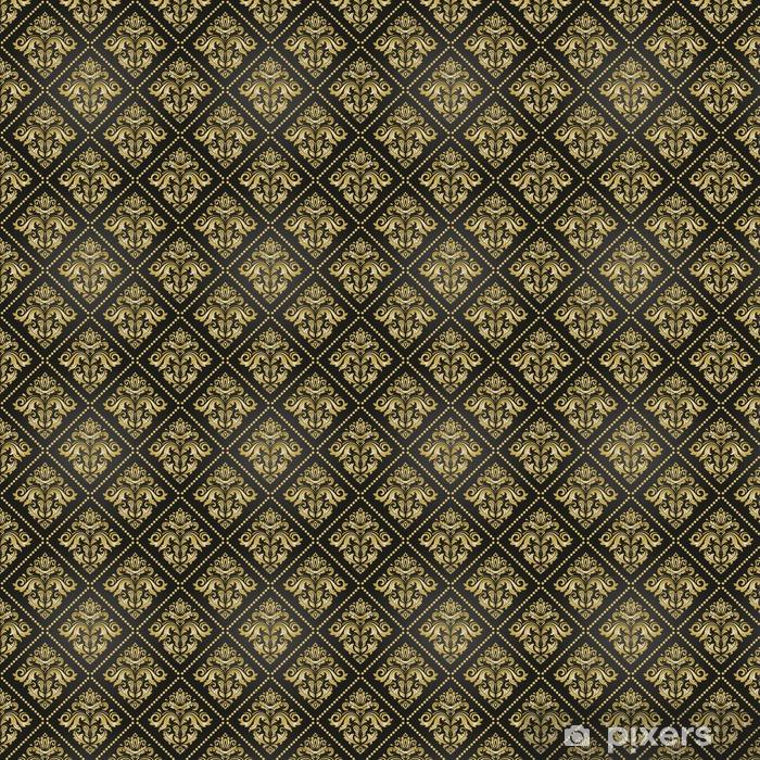 Klasyczny bezszwowy wektor złoty wzór. tradycyjny orient ornament. klasyczne tło