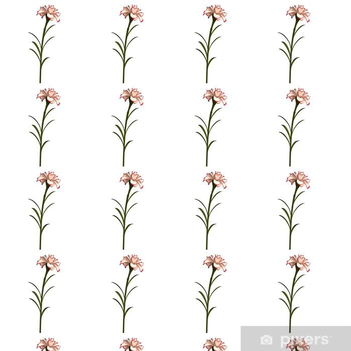 Tapeta na wymiar winylowa Goździk - Kwiaty