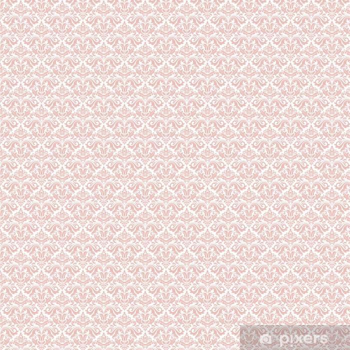 Super Tapete Nahtloses klassisches rosa Muster. traditionelle orient QK51