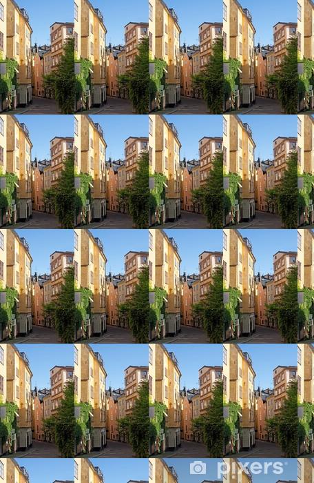 Vinyltapete nach Maß Alte Straße im Zentrum von Stockholm - Europa