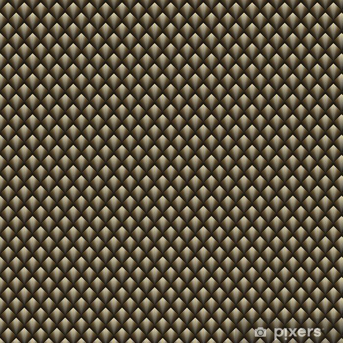Vinyl behang, op maat gemaakt Art deco-stijl naadloze patroon gouden textuur - Grafische Bronnen