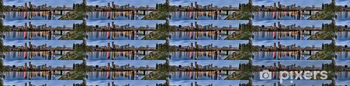 Vinyltapete nach Maß Panorama von Portland, Oregon, USA. - Amerika
