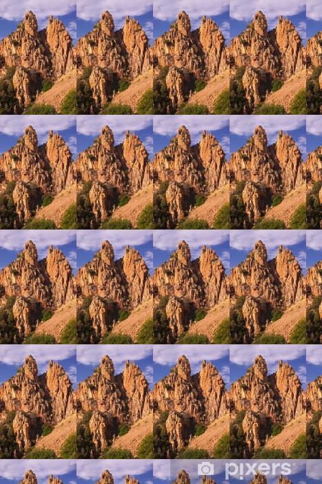 Vinyltapet Bergformasjoner av Calanche de Piana - Fjell