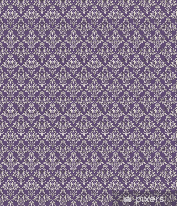 Dark purple and beige vintage wallpaper Vinyl custom-made wallpaper - Graphic Resources