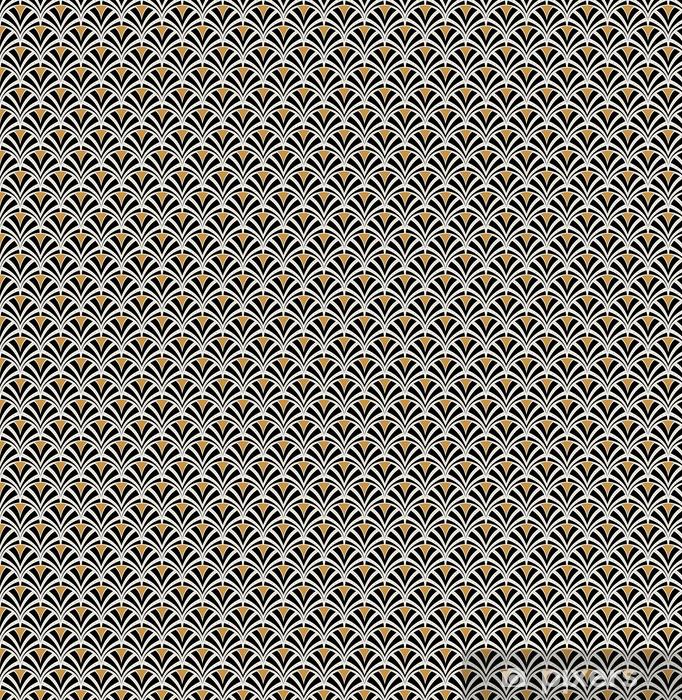 Tapete Vektor Floral Jugendstil Nahtlose Muster Geometrische